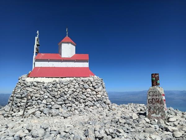 Церковь на верху Румии
