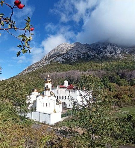 Черногория. Бар. Монастырь Св. Сергия Радонежского