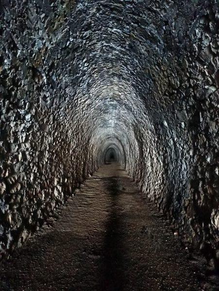 Внутри тоннеля Суторман