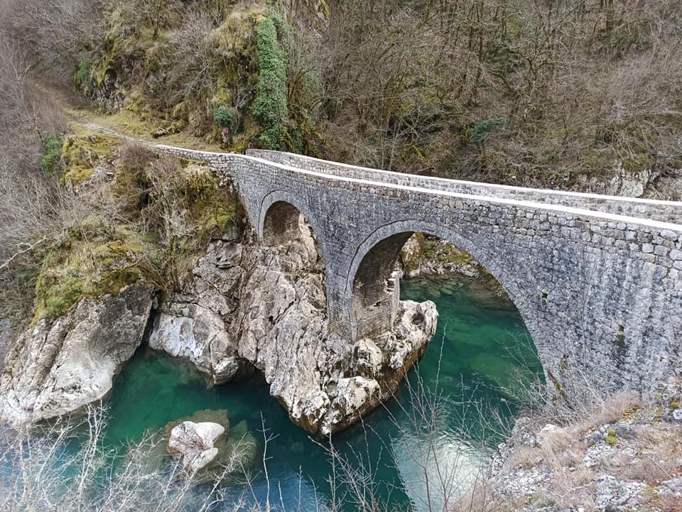 Мост князя Данило. Февраль 2020