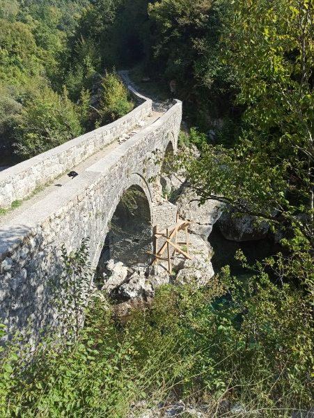 Мост князя Данило. Реставрация
